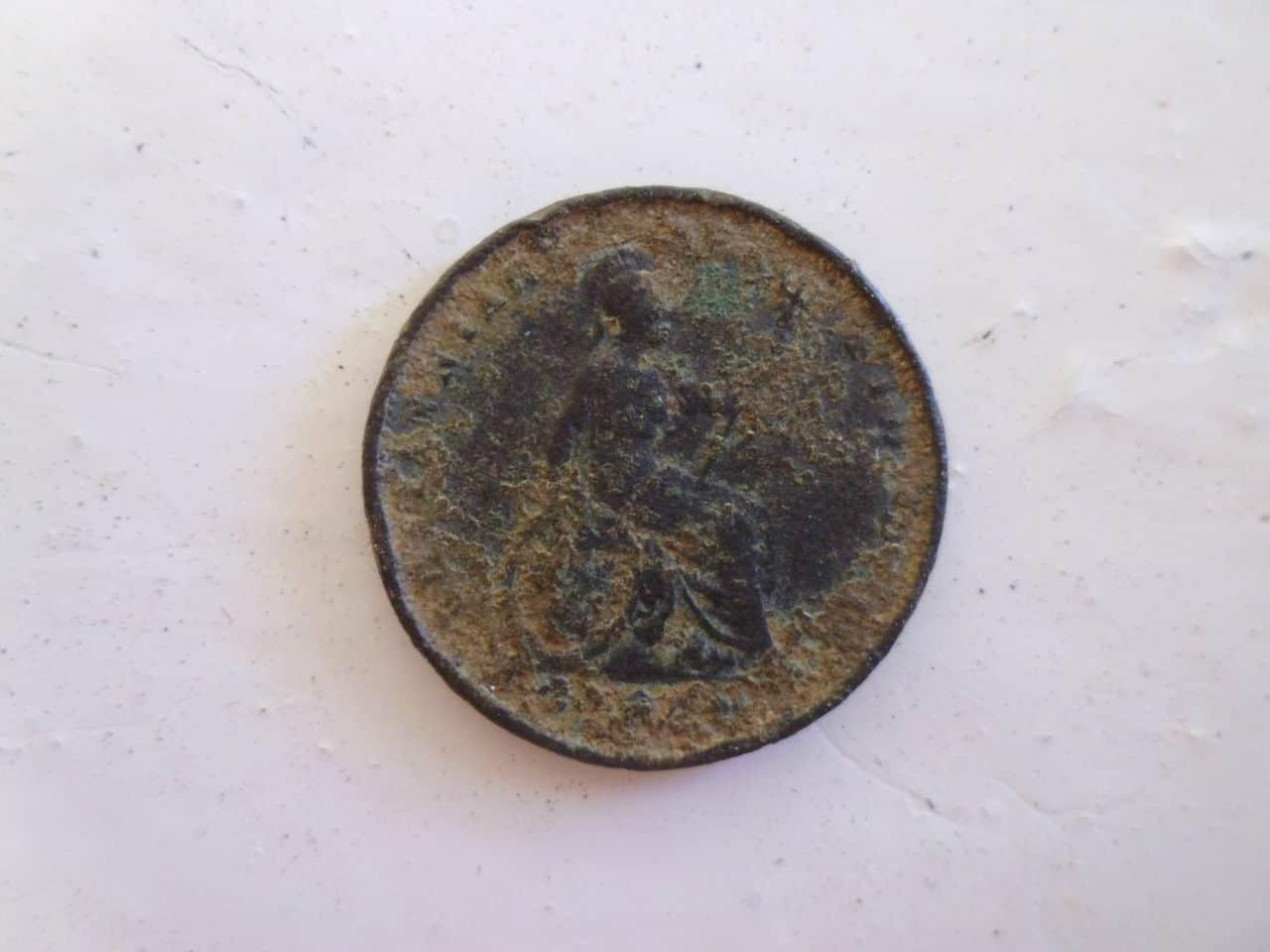 1 Farthing (1/4 Penny). Reino Unido. 1826 P1110685