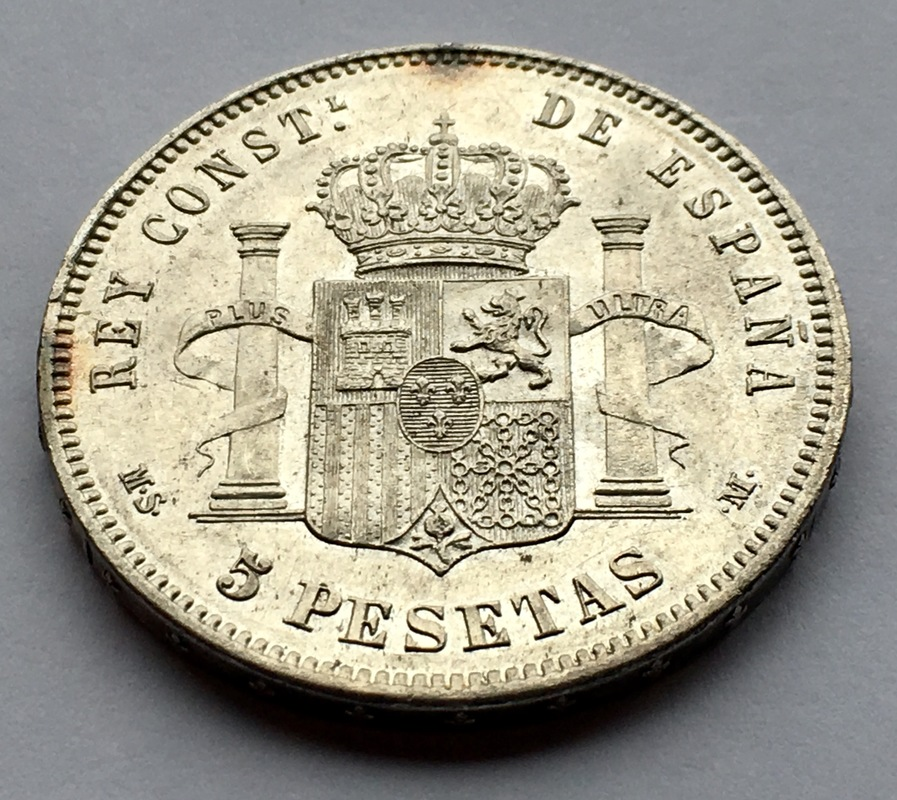 5 pesetas 1885 (*18-87). Alfonso XII IMG_8337