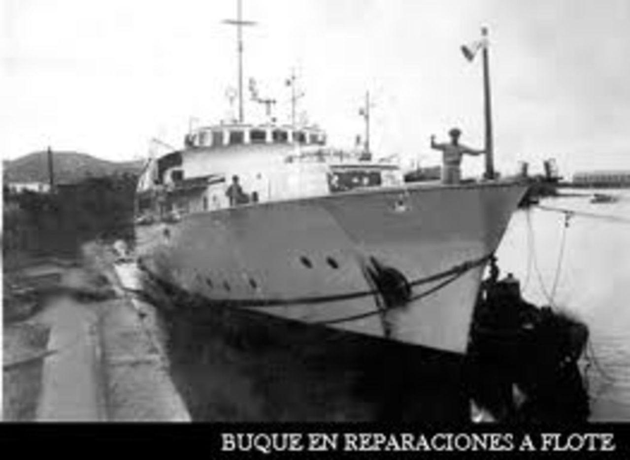 YATES PRESIDENCIALES – YATE SOTAVENTO – ARMADA DE MEXICO - 1948 SOTAVENTOENREPARACIONAFLOTESALINACRUZ