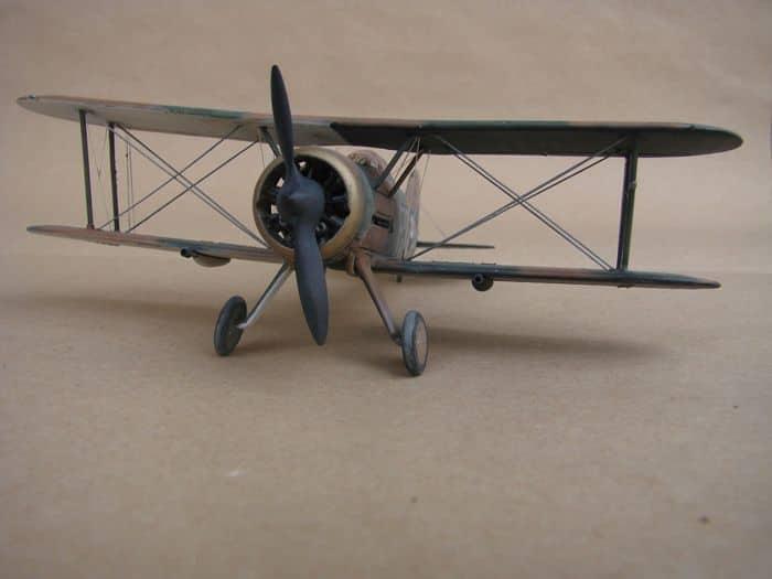 Gloster Gladiator Mk.I, Matchbox/Revell, 1/72 DSC03055