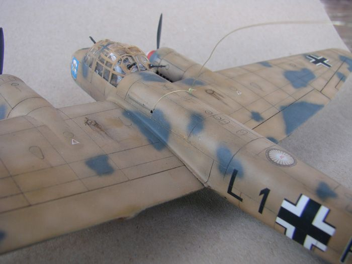 Junkers Ju-88A-4, Revell(rebuild), 1/72 DSC03195