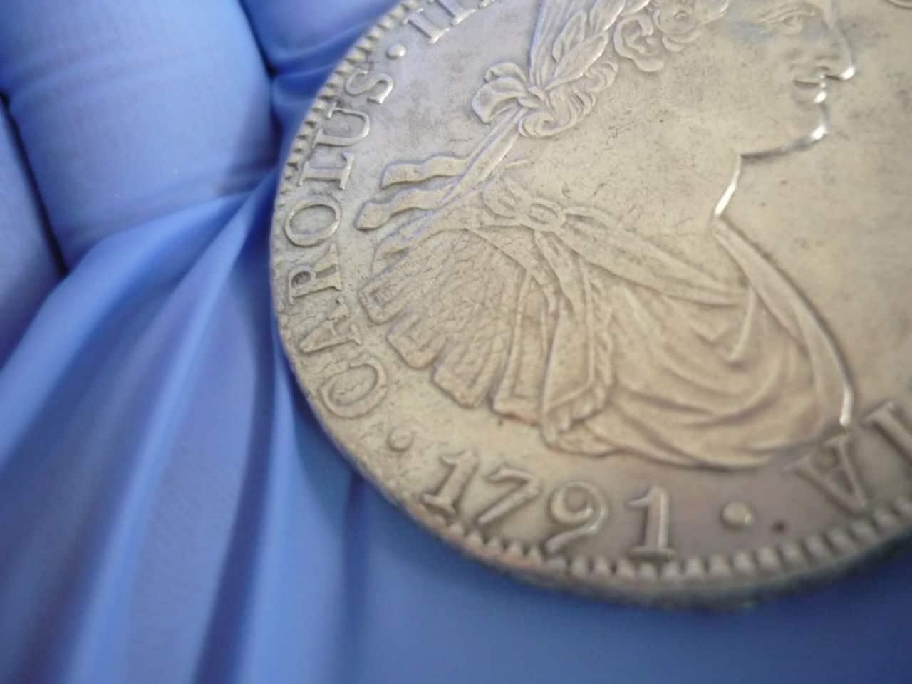 8 reales - CARLOS IIII - 1791 - Mejico FM P1040264
