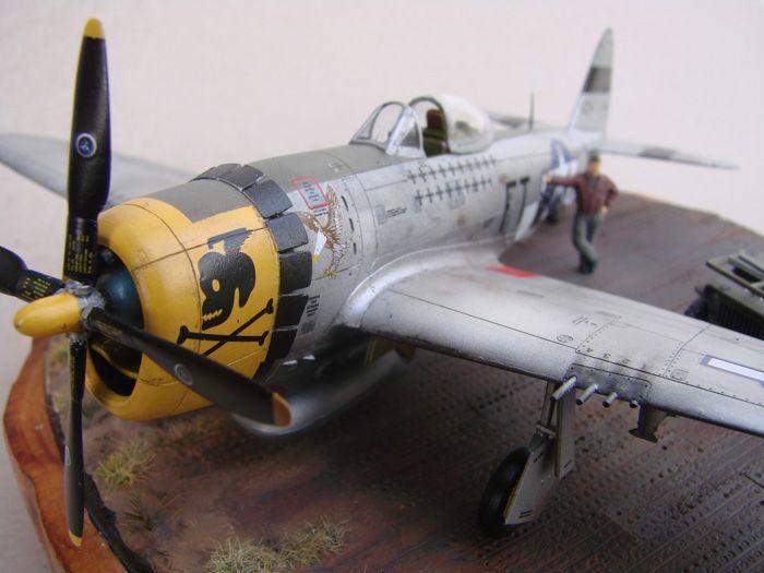 P-47D-30RE Thunderbolt, Revell, 1/72 DSC03174
