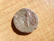 As de Antonino Pío. IMPERATOR II  S-C. Libert en exergo. P1420284