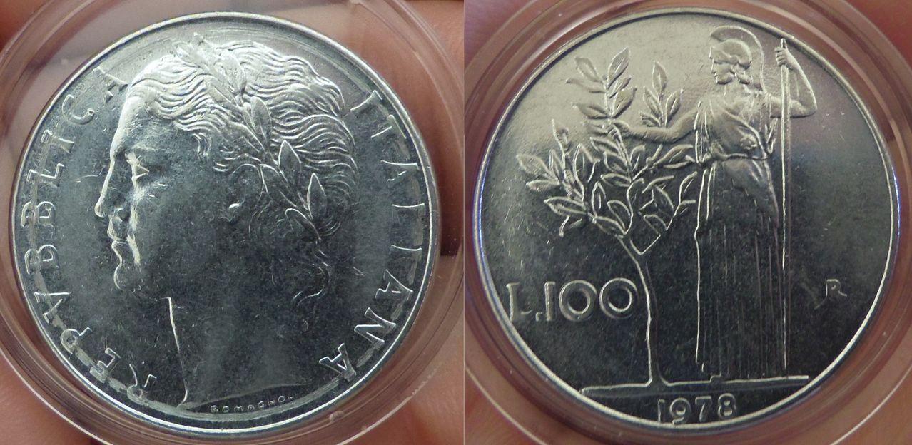 100 Liras. Italia. Roma. 1978. IMGP6184
