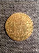 8 Escudos Carlos IV 1791 Nuevo Reino JJ 29nj6dw