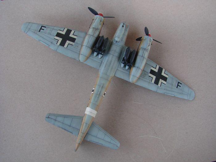 Junkers Ju-88A-4, Revell(rebuild), 1/72 DSC03200