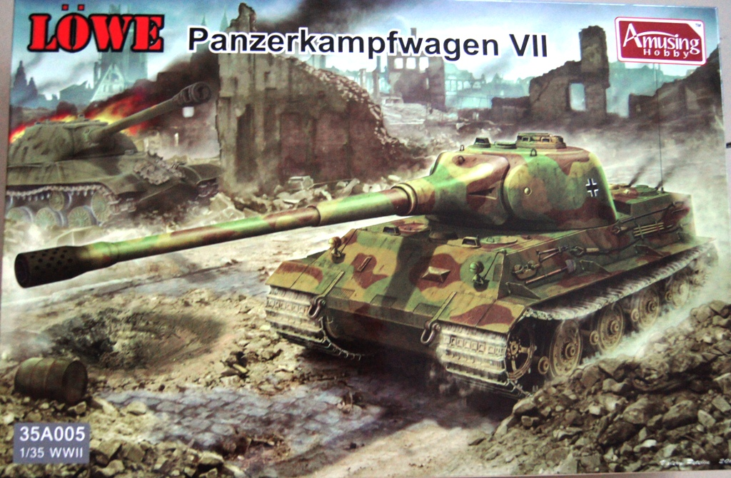 LÖWE Panzerkampfwagen VII 1/35 Amusing Hobby  FINI DSC0002