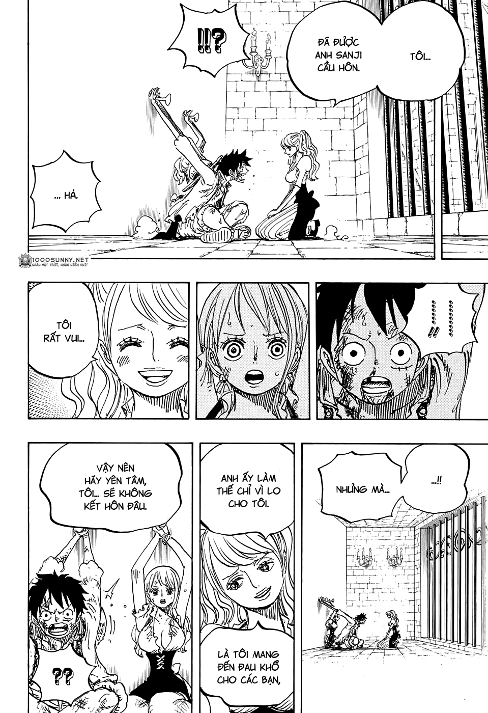 One Piece Chapter 848: Tạm biệt 021