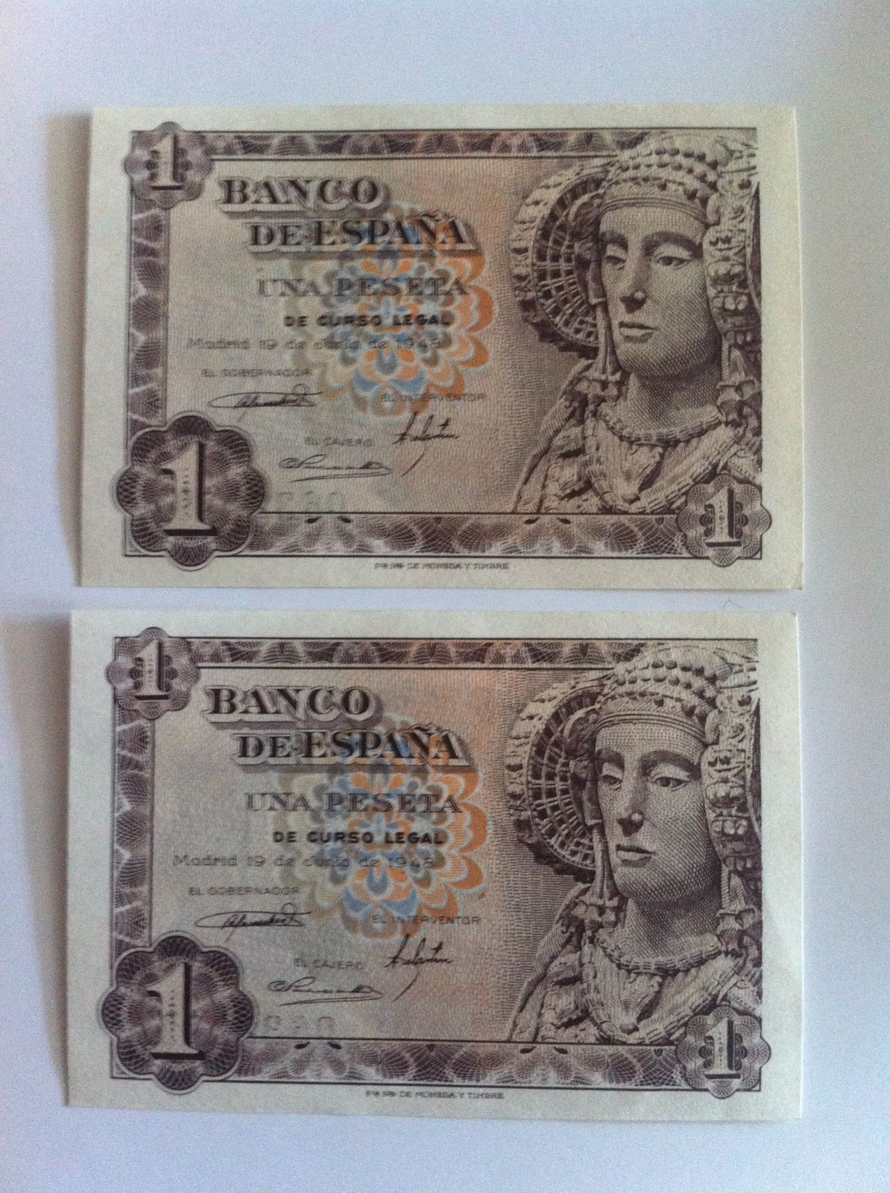 Ayuda valoracion una peseta 1948  IMG_4932