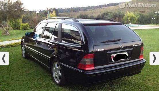S202 C230 Touring Kompressor1999 R$ 28.000,00 Screenshot_435