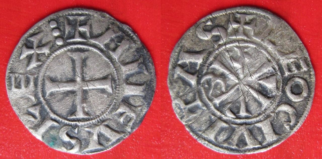 Dinero de Alfonso VI de Castilla 1085-1109 León  Dinero_Alfonso_VI