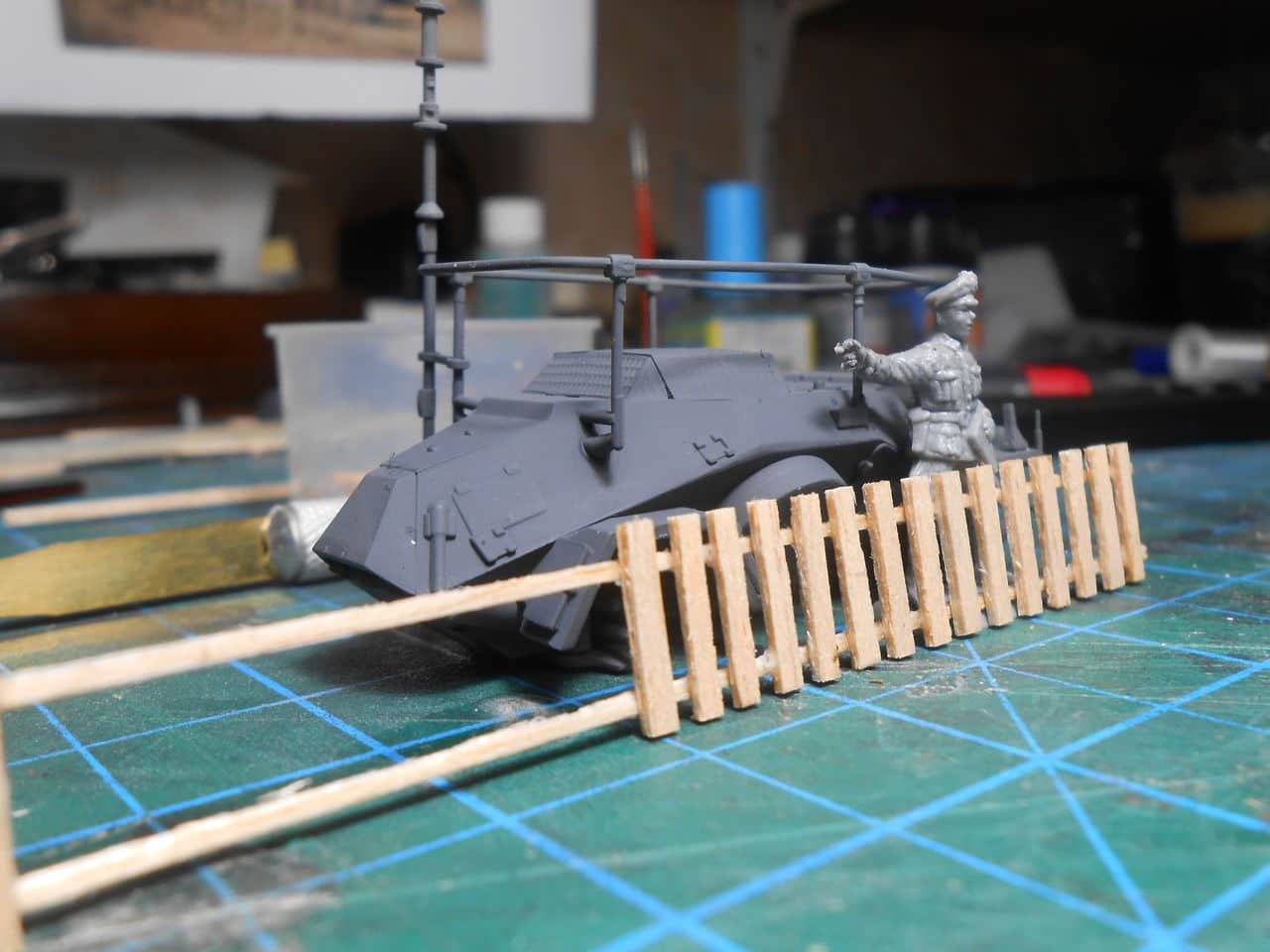 Sd.Kfz. 261 Kleiner Panzerfunkwagen DSCN1450