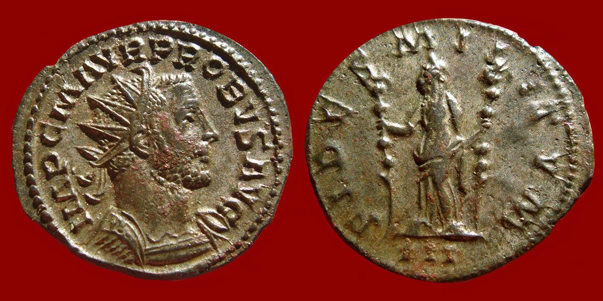 Aureliano (antoniniano) de Probo.  0_0_0_probo1