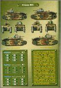 Камуфляж французских танков B1  и B1 bis 050