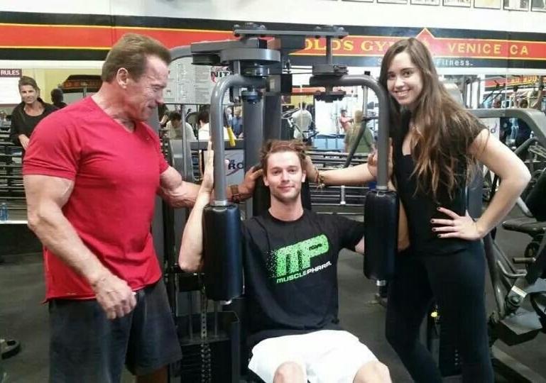 Arnold is back Arn