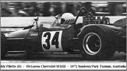Tasman series from 1971 Formula 5000  71sand34