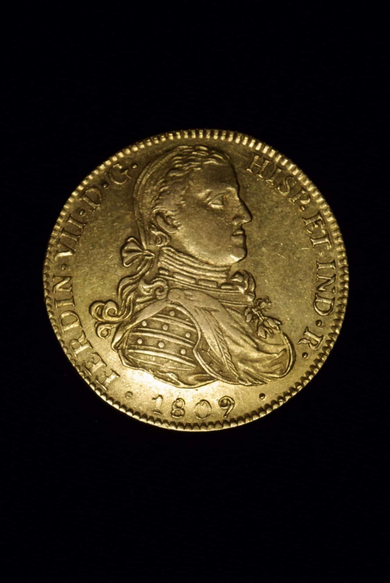 8 escudos 1809 Mejico Fernando VII. Dedicada a Eddy Image