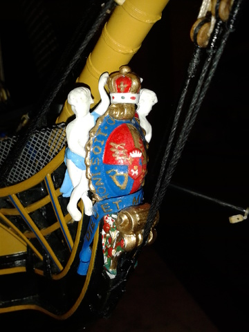 royal - I miei lavori terminati: Corazzata Bismarck, Soleil Royal, Victory. 20130729_210526
