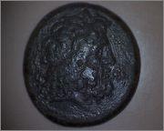 AE35 de Ptolomeo III. ΠTOΛEMAIOΥ BAΣIΛEΩΣ. Tiro Smg_341a