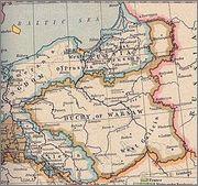 5 Groszy - Friedrich August I Gran Ducado de Varsovia 1811 I.S 250px_Duchy_of_Warsaw_and_Republic_of_Danzig