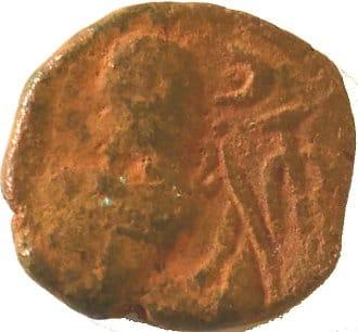 Æ Dracma. Orodes I. Reino Elymaida. Mediados del Siglo I d.C. 217