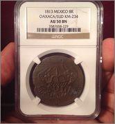8 reales SUD 1814 José María Morelos. Mejico - Página 2 Image