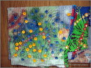 Скрапбукинг. Голубой мак, карандашница или декорваза для сухоцветов. 1_DSCF1969