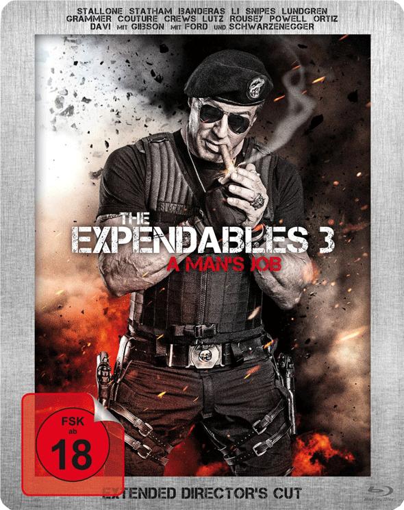 The Expendables 3 (Los Mercenarios 3) 2014 - Página 10 Steel_book1