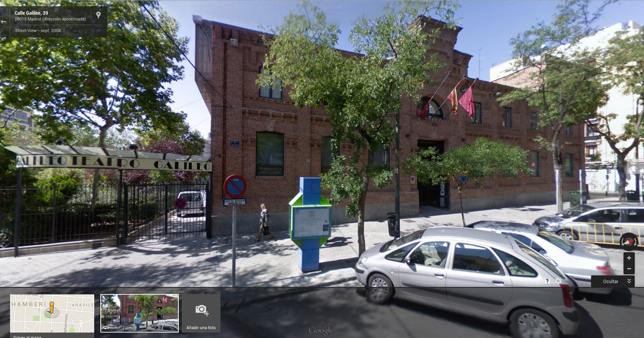 Local para reuniones en Madrid Centrocultural