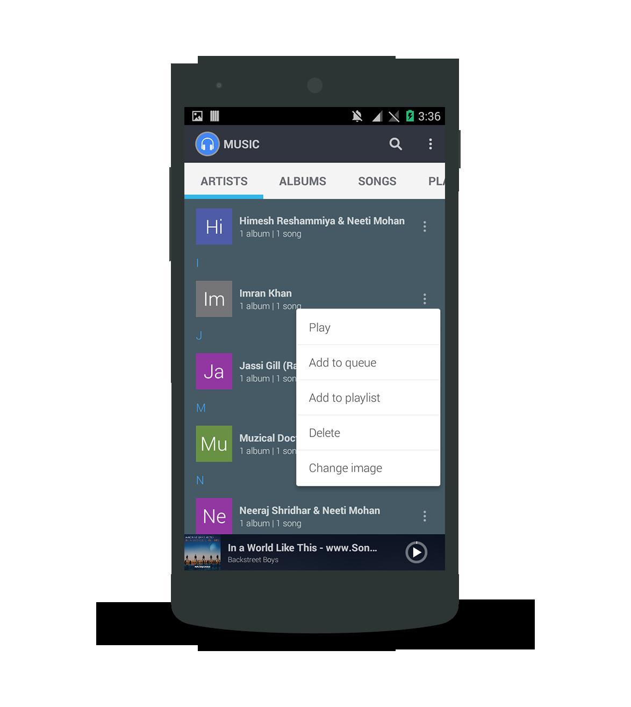 Aplikace  [Materiál] DARK hudební přehrávač Ui / UX [4.4 +] Ssfix1