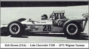 Tasman series from 1971 Formula 5000  71wig28