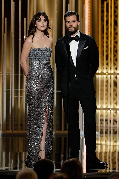 Dakota Johnson and Jamie Dornan Jamie-Dornan-Dakota-Johnson-72nd-Golden-Globe-January-2015-Beverly-Hills-GETTY-