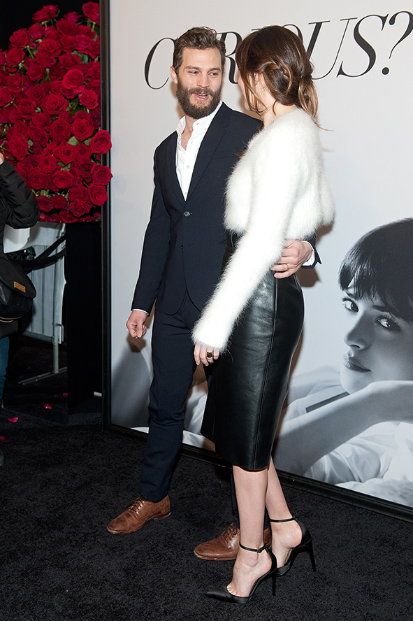 Dakota Johnson and Jamie Dornan Jamie-Dornan-Dakota-Johnson-Fifty-Shades-of-Grey-Fan-First-Screening-Ziegfeld-Theatre-New-York-City-February-2015-GETTY-BLOG