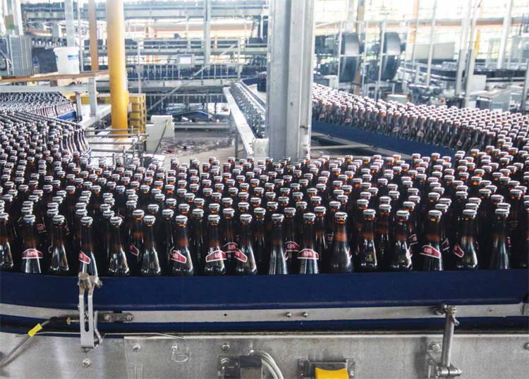 බියර් අපනයන ඉහළට Beer-Production