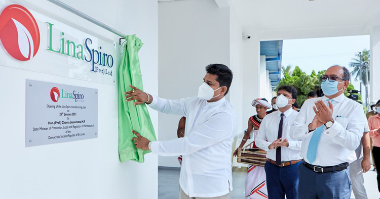 SUNSHINE HOLDINGS PLC (SUN.N0000) - Page 2 Lina-Spiro-begins-operations-as-Sri-Lanka%E2%80%99s-first-Metered-Dose-Inhaler-manufacturing-plant