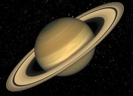 The View From Cassini. Saturn Up Close. Saturn-article