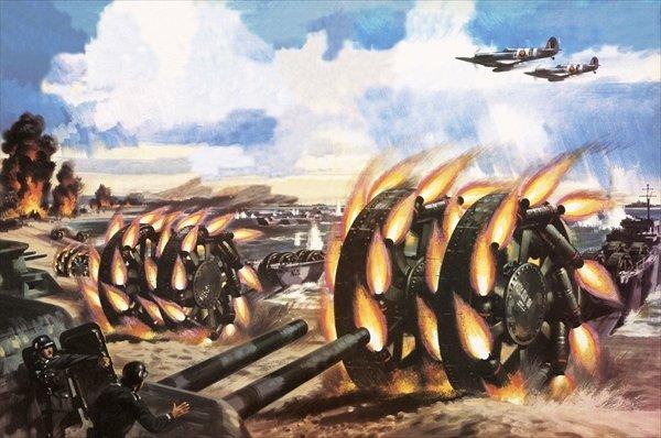 Panjadrum, el arma más extraña de la Segunda Guerra Mundial Lal337238