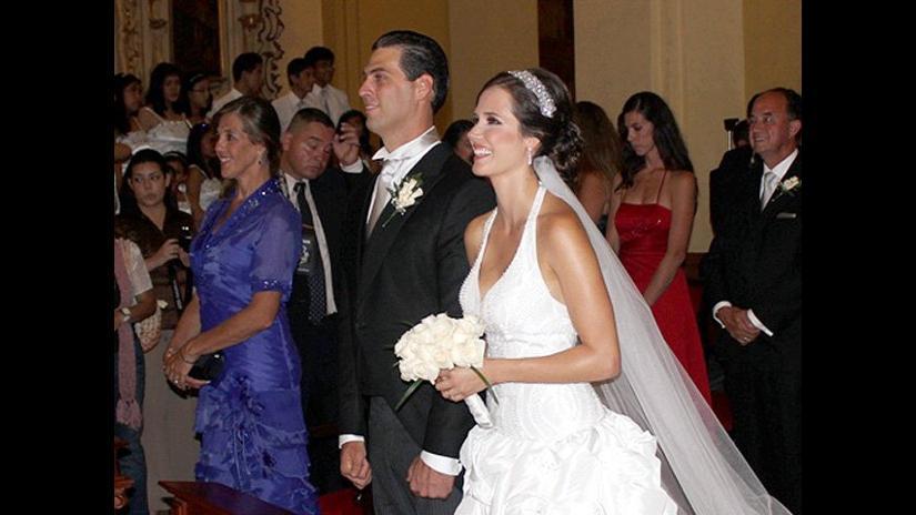 Maju en su boda 803595