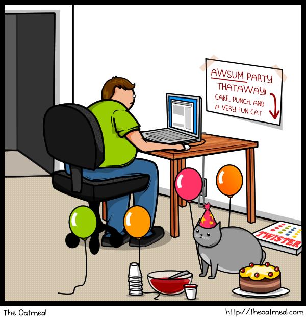 Joke About Cat Vs Internet 13