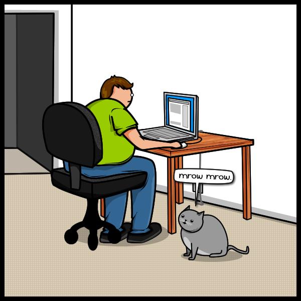 Joke About Cat Vs Internet 2
