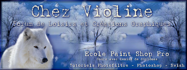 Chez Violine - Forum de Loisirs et Créations Graphiques Banfofopub