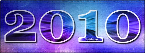 Ma ptite galerie, Violine Annee2010
