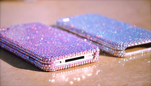 ```Telefoane``` - Page 6 Crystals-glitter-iphone-mobile-phone-Favim.com-400362