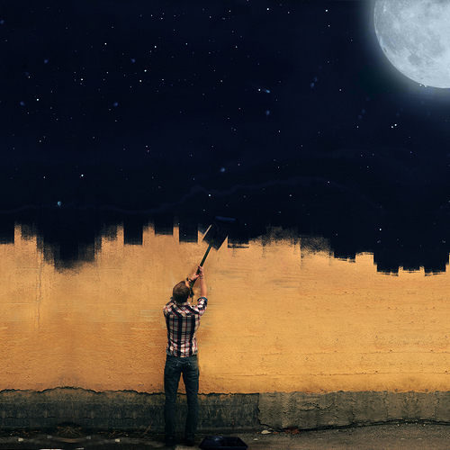 MOON NIGHT - Página 39 Boy-moon-mural-paint-space-Favim.com-419163