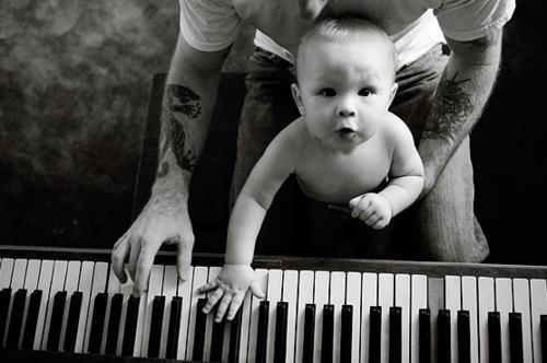 Foto bardh e zi! Adorable-baby-black-and-white-child-children-Favim.com-436090