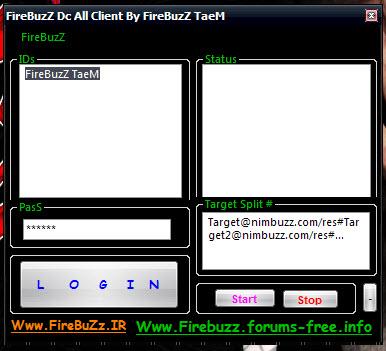 FireBuzZ Dc All Client By FireBuzZ TaeM (free) Screeen_dc