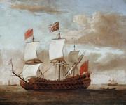 40-gun Old Glory man o' war ship British_man_o_war