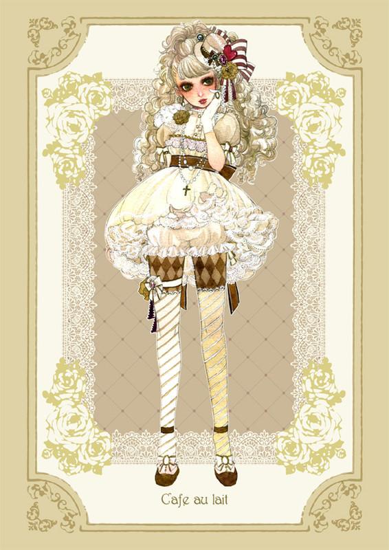 Sakizo Artwork group Coffee_Personification_full_258502