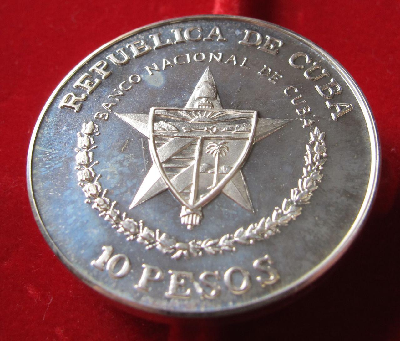 10 pesos 1989. En marcha hacia la victoria. Cuba Cuba1